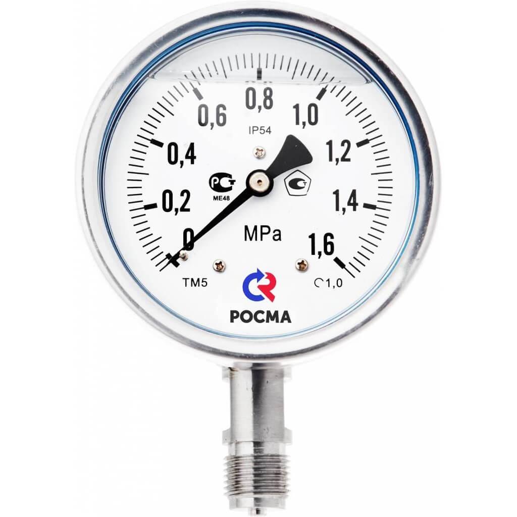 Манометры для измерения давления воды